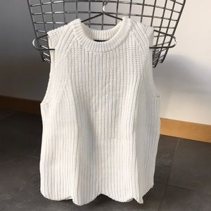 J.Crew sleeveless sweater
